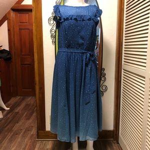 New eShatki Blue Ombré Star Dress
